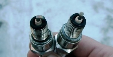 Снятие и замена свечей зажигания в двигателе Chevrolet Lanos