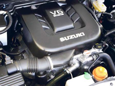 Снятие и замена воздушного фильтра Suzuki Grand Vitara