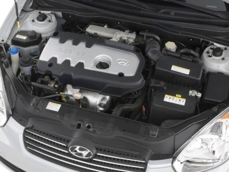 Снятие и замена воздушного фильтра Hyundai Accent