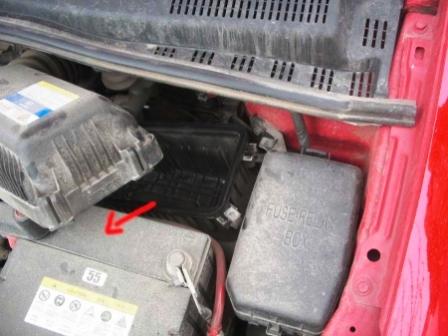 Замена воздушного фильтра Hyundai Getz