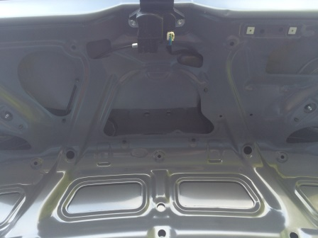 Крышка багажника без обшивки Kia Rio 3