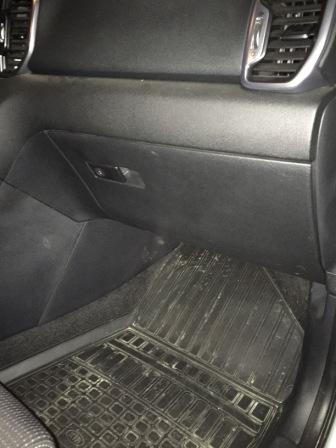 Садимся на пассажирское сидение Kia Sportage 4