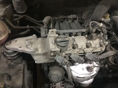 Замена масла в двигателе Skoda Fabia 2