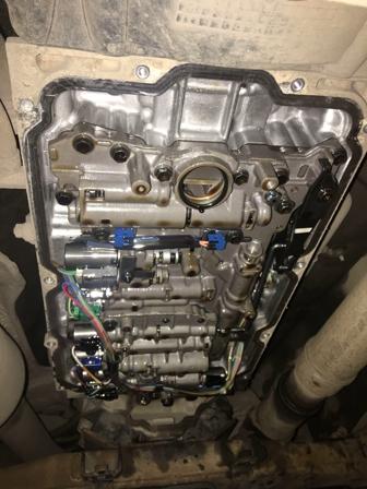 Замена масла в АКПП Toyota Land Cruiser 200