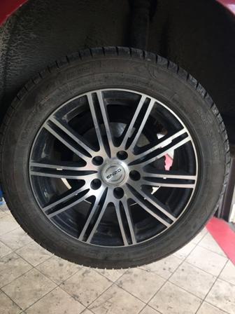 Замена задний тормозных колодок и дисков Audi a4 b6