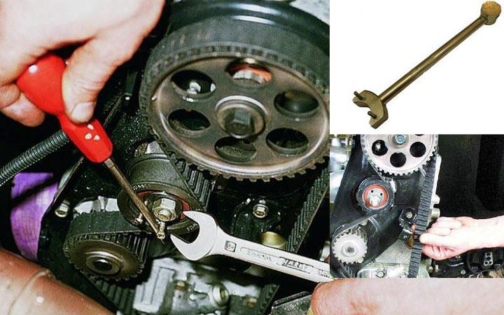 Как натянуть ремень ГРМ в моделях ВАЗ 2113 2114 2115