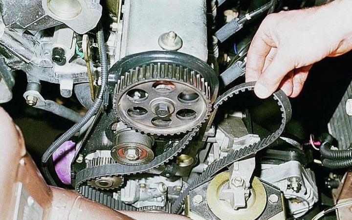 Установка ремня ГРМ на автомобилях ВАЗ 2113 2114 2115