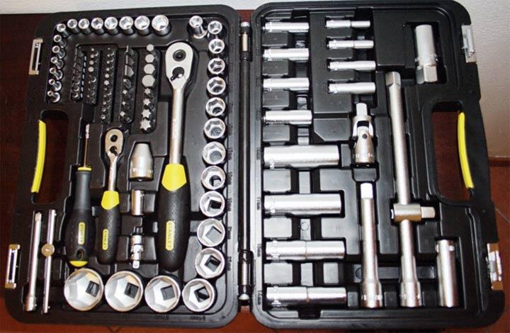 Инструменты для ремонта сцепления на ВАЗ 2107