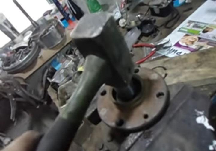 Пошаговая инструкция замены заднего ступичного подшипника на ВАЗ 2113, 2114, 2115 своими руками