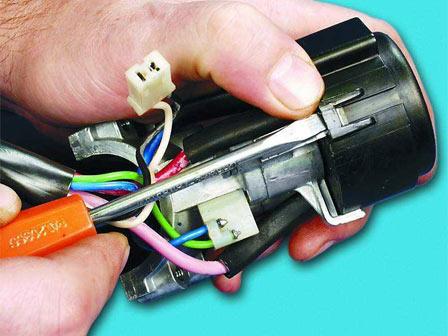 Замена замка зажигания ВАЗ 2110, 2111, 2112