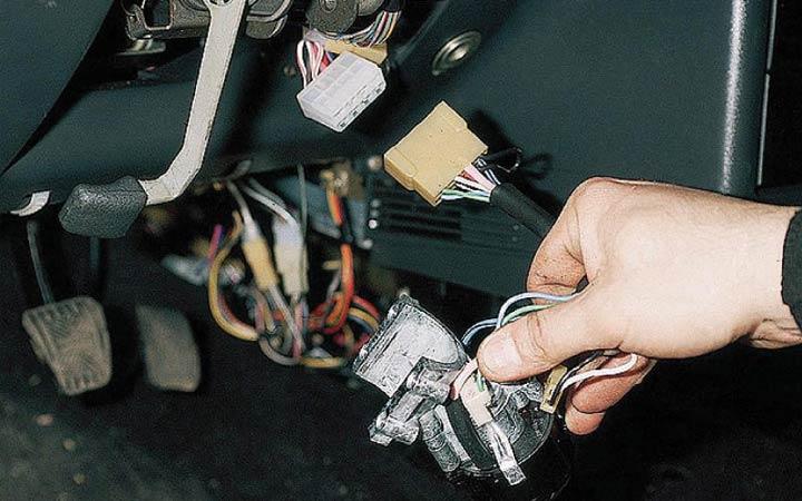 Как поставить новый замка зажигания на ВАЗ 2110, 2111, 2112 своими руками