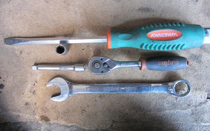 Инструменты для замены помпы на ВАЗ 2110, 2111, 2112