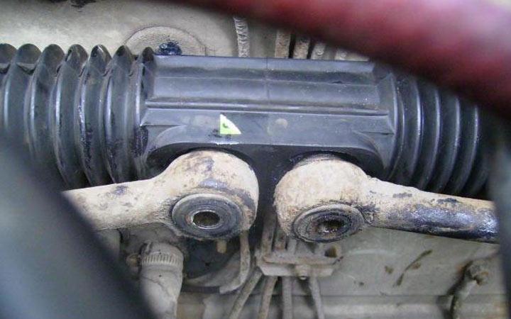 Монтаж рулевых тяг при замене рулевой рейки на ВАЗ 2113, 2114, 2115
