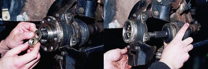 Замена ступичного подшипника на автомобилях ВАЗ 2110, 2111, 2112