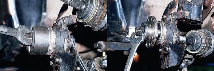 Замена ступичного подшипника на ВАЗ модели 2110, 2111, 2112