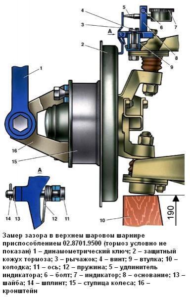Замена шаровых опор ВАЗ 2107 пошаговая инструкция с фото и видео