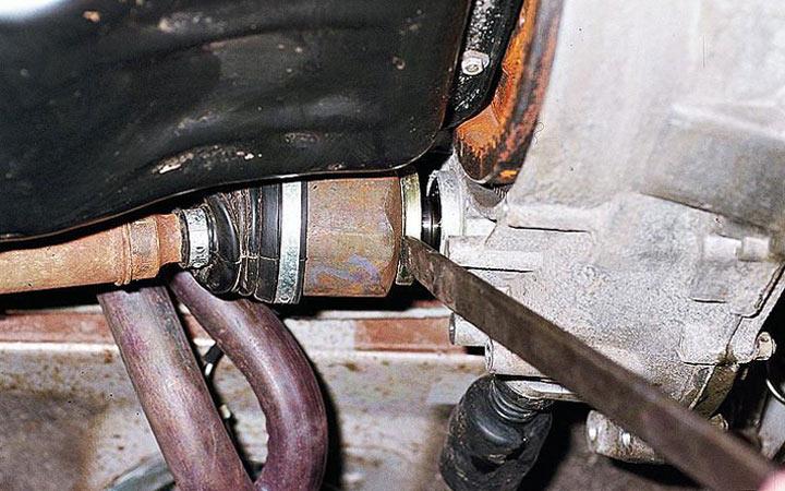 Инструкция по замене заднего и переднего шруса на ВАЗ 2110, 2111, 2112