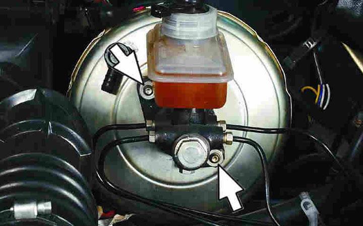 Пошаговая инструкция по замене вакуумного усилителя своими руками на автомобилях ВАЗ 2110, 2111, 2112