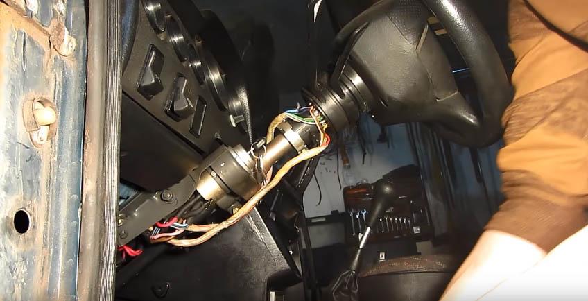 Замена замка зажигания ВАЗ 2107 пошаговая инструкция с пояснениями мастера