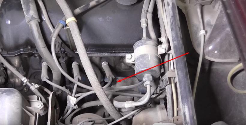 Болт слива охлаждающей жидкости из блока ВАЗ 2107