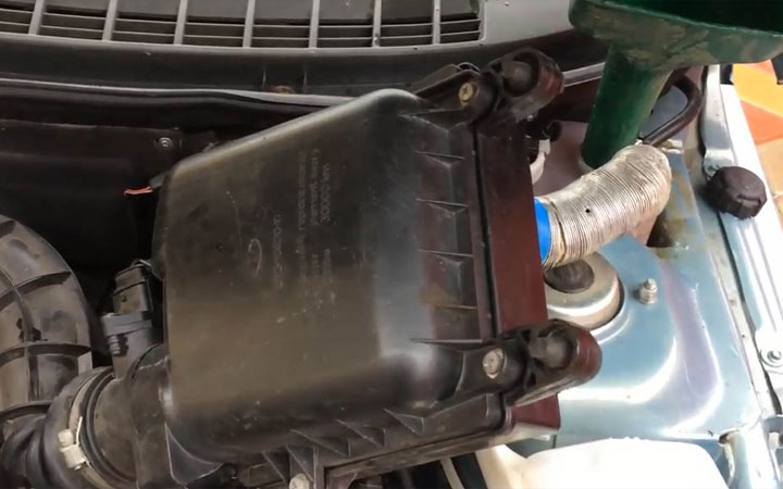 Замена термостата ВАЗ 2110 своими руками