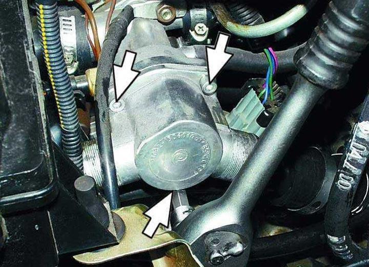 Пошаговая инструкция с фото и видео замена термостата на ВАЗ 2110