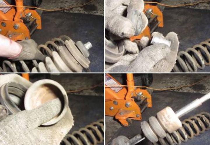 Пошаговая инструкция (фото и видео) замены задних стоек на ВАЗ 2113, 2114, 2115