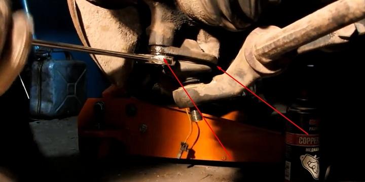 Инструкция по замене шаровой ВАЗ 2110, 2111, 2112