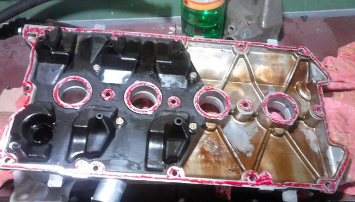 Герметик на клапанную крышку ВАЗ 2110, 2111, 2112 16 клапанов