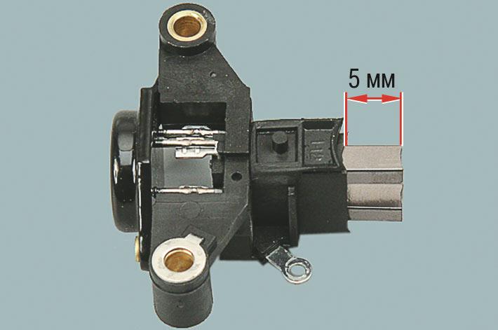 Щетки генератора на ВАЗ 2113, 2114, 2115