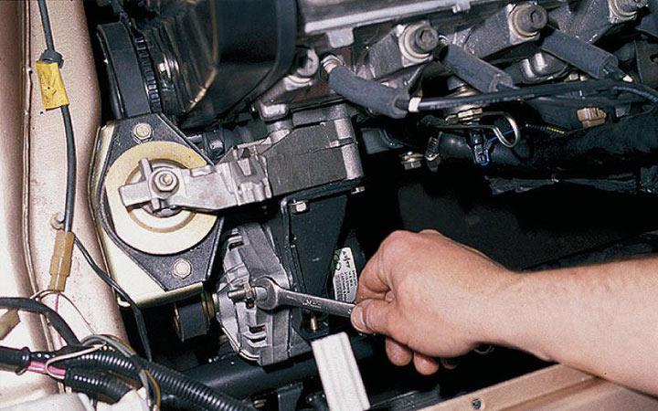 Пошаговая инструкция замены щеток генератора на ВАЗ 2113, 2114, 2115