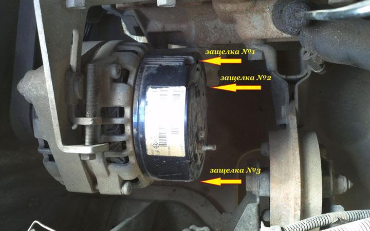 Как самому заменить щетки генератора на ВАЗ 2113, 2114, 2115, пошаговая инструкция с фото