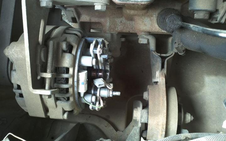 Подробная инструкция замены щеток генератора на ВАЗ 2113, 2114, 2115 с деомнтажом генератора