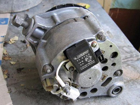 Замена щеток генератора ВАЗ 2107