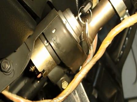 Замена замка зажигания ВАЗ 2106