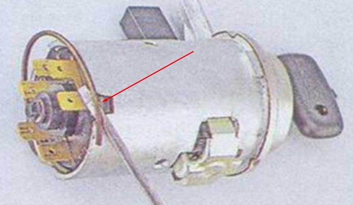 Замена контактной группы замка зажигания ВАЗ 2106