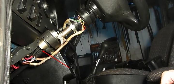 Пошаговая инструкция по замене замка зажигания ВАЗ 2106