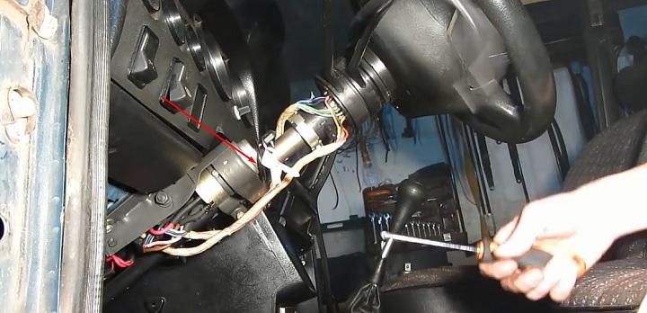 Замена контактной группы замка зажигания ВАЗ 2106 фото и видео