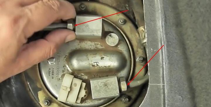 Пошаговая инструкция по замене бензонасоса ВАЗ 2113, 2114, 2115