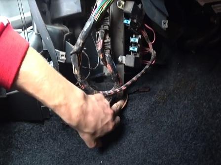 Замена радиатора отопителя ВАЗ 2113, 2114, 2115