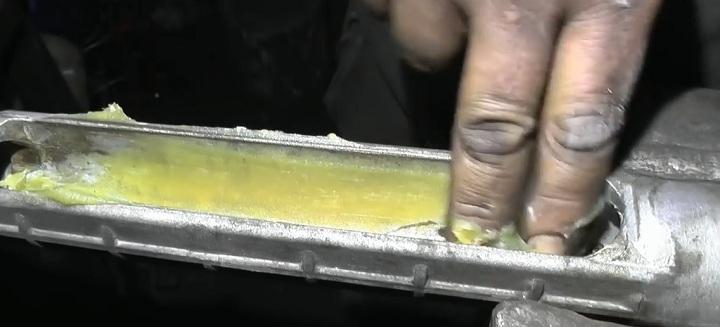 Смазка корпуса рейки ВАЗ 2110