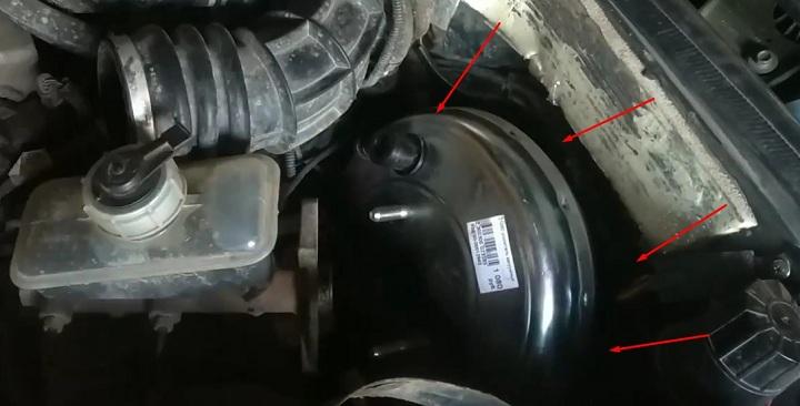 Фото и видео по замене ВУТ ВАЗ 2113, 2114, 2115