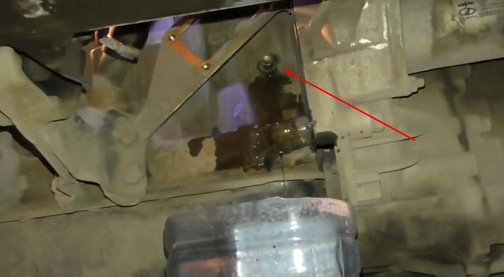 Слив охлаждающей жидкости ВАЗ 2113, 2114, 2115