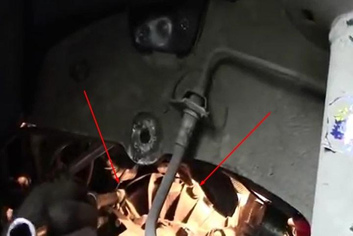 Болты крепления коробки передач Renault Logan