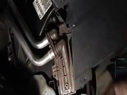 Замена радиатора печки Renault Logan
