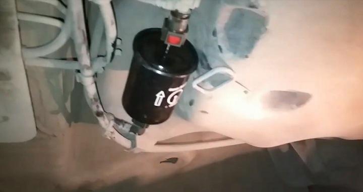 Замена топливного фильтра Renault Logan своими руками