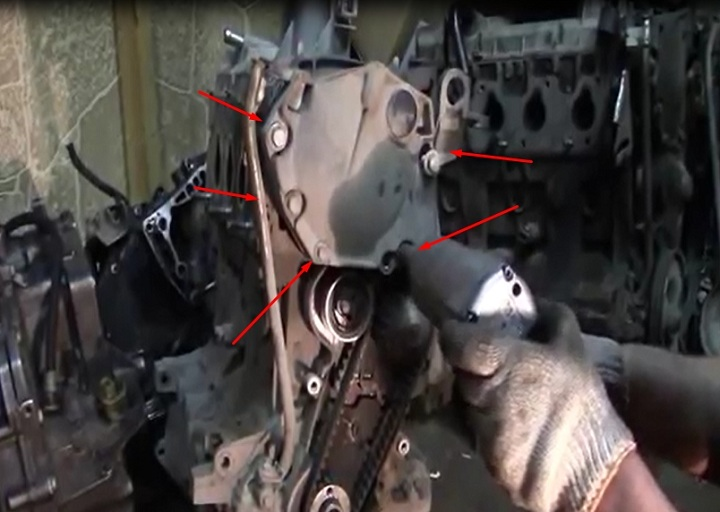 Пошаговая инструкция по замене ремня ГРМ Рено Логан своими руками