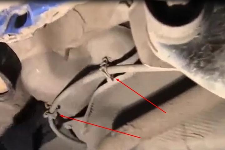 Информация о замене сайлентблока задней балки Рено Логан