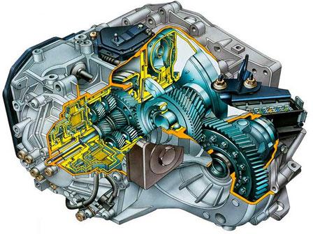 Замена масла в коробке Renault Logan