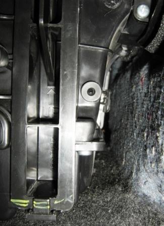 Крышка салонного фильтра Nissan Tiida